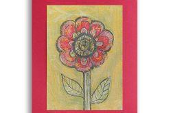 Kwiat 22 - rysunek dekoracyjny do pokoju