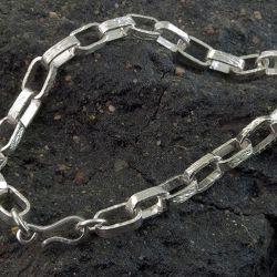 Bransoletka srebrna 925 oksydowana