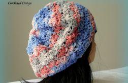 Kolorowy beret