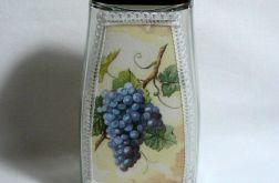 Pojemnik z motywem winogron