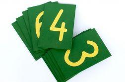 Szortskie cyfry, liczby Montessori