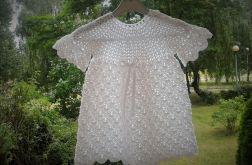 Biała sukienka bawełniana