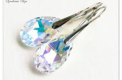 Kolczyki Swarovski Pear Shaped Crystal AB