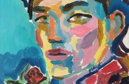 obraz olejny portret mężczyzny