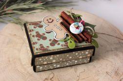 Świąteczne pudełeczko na biżuterię