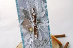 Mięta z cynamonem 2- kartka świąteczna