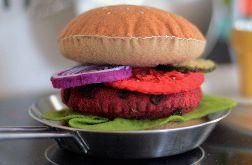 Zestaw dla dzieci burger z filcu