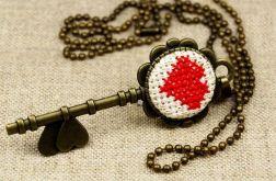 Naszyjnik klucz do serca