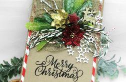 Kartka świąteczna Renifer gwiazdki BNR 031