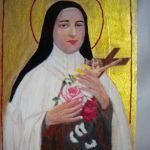 Ikona św Teresa - zblizenie