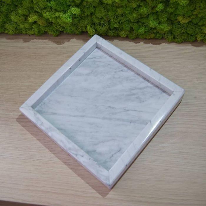 Taca marmurowa Bianco Carrara - Taca marmurowa