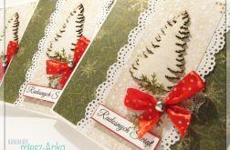 Kartka świąteczna z choinką 5