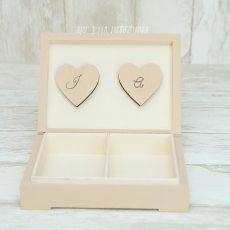 Pudełko na obrączki LATTE ORNAMENT
