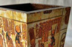 pojemnik egipski na przybory do pisania