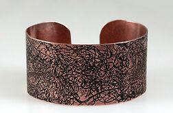 Nitki - miedziana bransoletka 160914-02