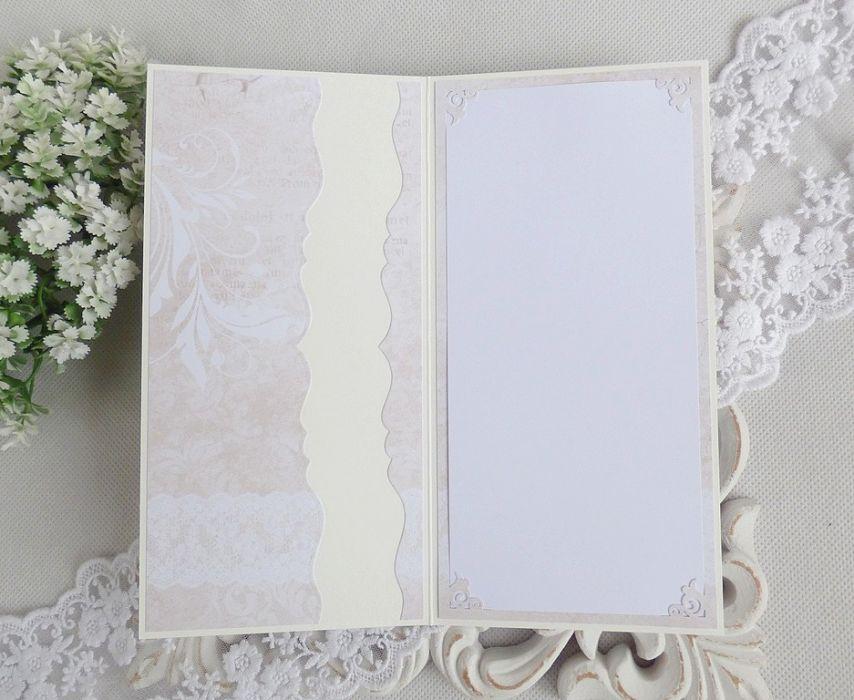 Ślubna kartka  w pudełku 254 -