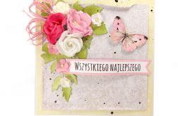 Kartka na ślub lub urodziny/imieniny - #648