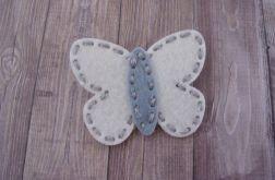 Nomma Spineczka do włosów Motylek Krem:)