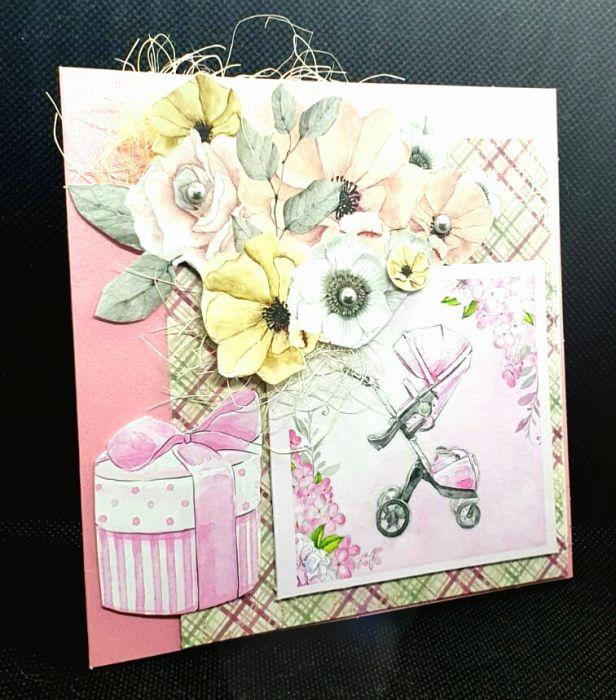 Kartka z okazji urodzenia się dziecka #1 Kartka z gratulacjami