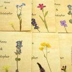 Zaproszenia ślubne z kwiatami - zaproszenia z imionami