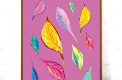 21x30 kolorowa grafika, ładny plakat - lato