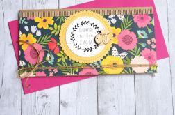 kartka kopertówka - słodkiego miłego życia