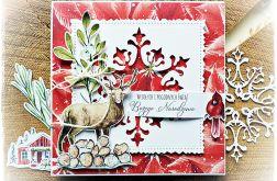 Jelonek - kartka bożonarodzeniowa
