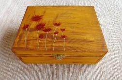 Herbaciarka malowana 6 przegródek - Astry