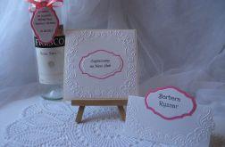 Zaproszenie ślubne, winietki i przwieszki