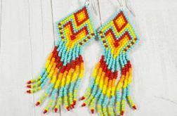 Barwne Kolorowe indiańce