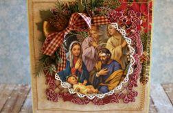 Kartka świąteczna  - Boża Rodzina 3