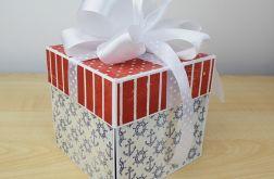 Marynistyczny box ślubny
