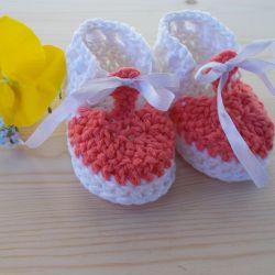 Buciki z bawełny