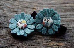 Spinki do włosów kwiatki JESIEŃ 3