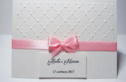 Zaproszenie Ślubne Sara