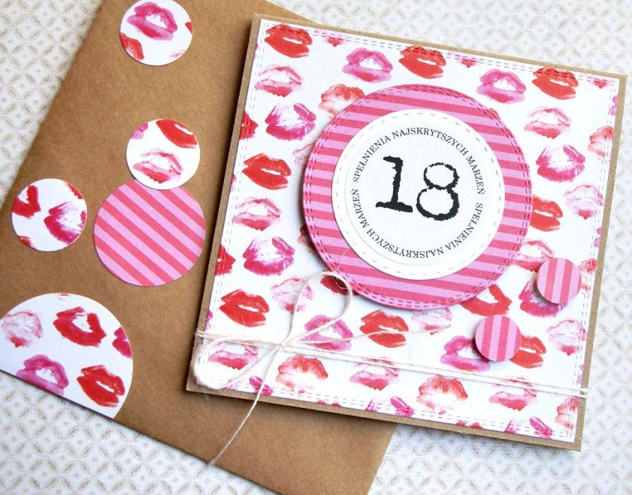 18-te urodziny :: KARTKA URODZINOWA :: kisses