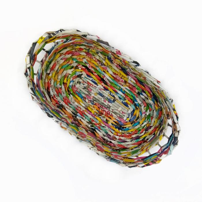 Kolorowy koszyczek na pieczywo