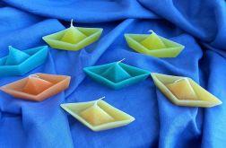 Pływająca świeczka łódeczka