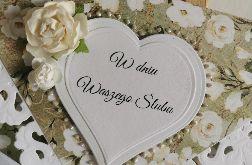 Kartka kopertowa kopertówka W dniu Waszego Ślubu