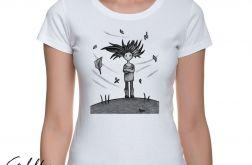 Wietrzna - t-shirt damski - różne kolory