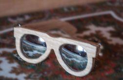 drewniane oklulary