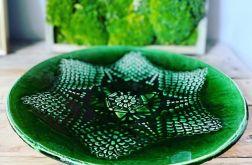 Patera koronka zieleń