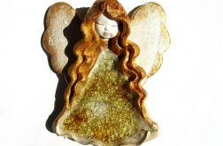 Anioł ceramiczny Basia 28 chrzest ślub