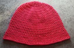 Letni bawełniany kapelusz fuksjowy