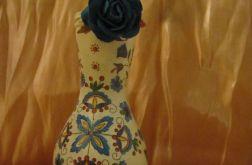 Butelka - Wazon - ludowy