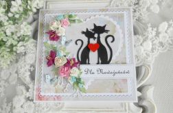 Ślubna kartka w pudełku 35