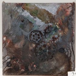nowoczesny obraz steampunk