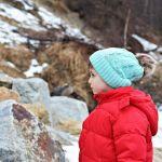 Czapka zimowa z pomponem na zimę miętowa