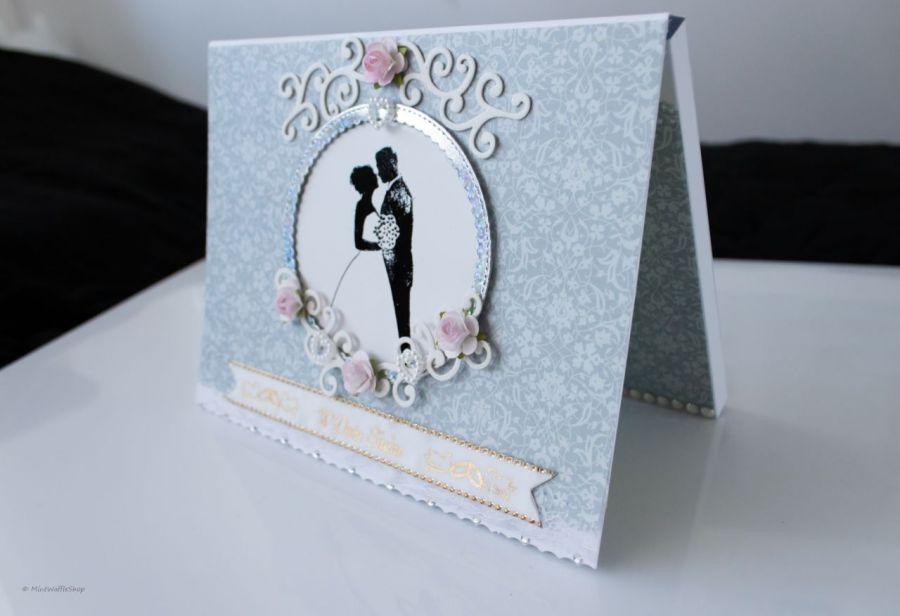 Kartka Czekoladownik na Merci W dniu ślubu
