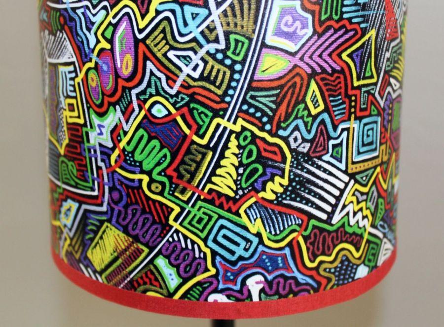 Kolorowa inspirująca lampa nIEŁUKIŁAMIE M - Soczyste kolory